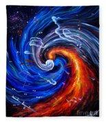 Firestorm Dancing With The Wind  Fleece Blanket