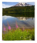 Fireweed Reflections Fleece Blanket