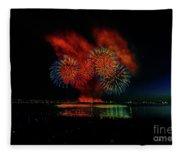 Fireworks 22 Fleece Blanket