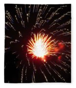 Firework Matchlight Fleece Blanket