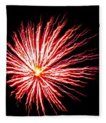 Firework Spider Mum Fleece Blanket