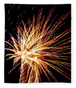 Firework Symphony Fleece Blanket