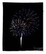 Fireworks 12 Fleece Blanket
