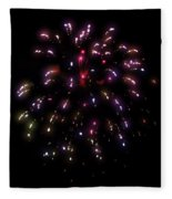 Fireworks 13 Fleece Blanket