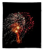 Fireworks 14 Fleece Blanket