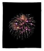 Fireworks 15 Fleece Blanket