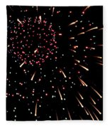 Fireworks 3 Fleece Blanket