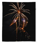 Fireworks 5 Fleece Blanket