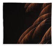 Fireworks A Different Perspective 6 Fleece Blanket
