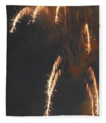 Fireworks A Different Perspective Four Fleece Blanket