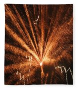 Fireworks A Different Perspective Seven Fleece Blanket