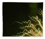 Fireworks As Art Ten Fleece Blanket
