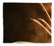 Fireworks As Art Two Fleece Blanket