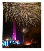 Fireworks At Maspalomas 1 Fleece Blanket