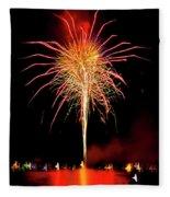 Happy Birthday, United States Of America 8 Fleece Blanket
