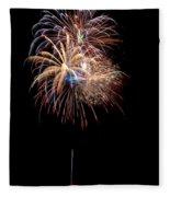 Fireworks IIi Fleece Blanket