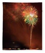 Happy Birthday United States Of America 15 Fleece Blanket