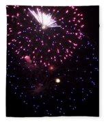 Fireworks Over Puget Sound 10 Fleece Blanket