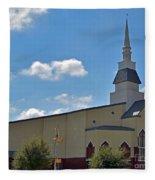 First Baptist Church - Pflugerville Texas Fleece Blanket