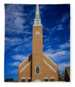 First Congregational Church Fleece Blanket