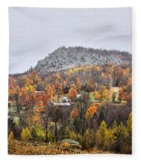First Dusting Fleece Blanket