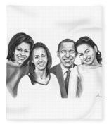 First-family 2013 Fleece Blanket