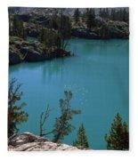First Lake Fleece Blanket