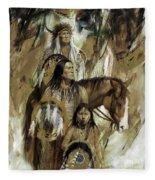 First Nation 67r Fleece Blanket