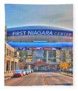 First Niagara Center Fleece Blanket