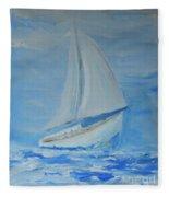 First Sail Fleece Blanket