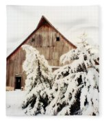 First Snowfall Fleece Blanket