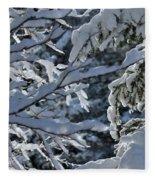 First Snow II Fleece Blanket