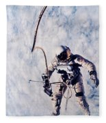 First Spacewalk Fleece Blanket