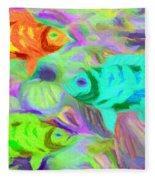 Fish 3 Fleece Blanket