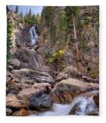 Fish Creek Fallin Fleece Blanket