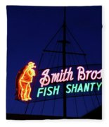 Fish Market Fleece Blanket