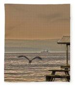 Fish Patrol Fleece Blanket