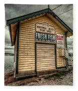 Fish Shed Fleece Blanket