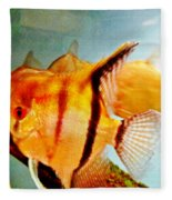 Fish Tank Fleece Blanket