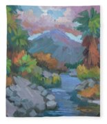 Fish Trap Indian Canyon Fleece Blanket