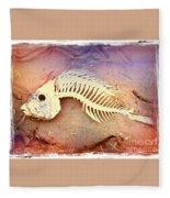 Fishbones Fleece Blanket