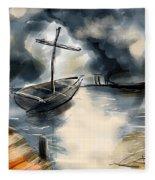 Fisher Of Men Fleece Blanket