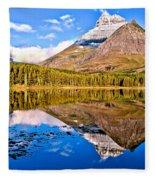Fishercap Blue Reflections Fleece Blanket
