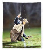 Fisherman II Fleece Blanket