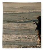 Fisherman Fleece Blanket