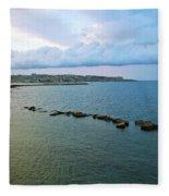 Fisherman's Delight In Sicily Fleece Blanket