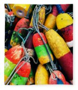 Fishermen's Floats Fleece Blanket
