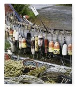 Fishermen's Supplies Fleece Blanket