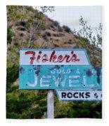 Fisher's Jewelry Fleece Blanket