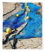 Fishing Fleece Blanket
